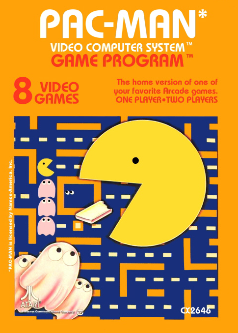 Pac-Man (Atari) (PAL)